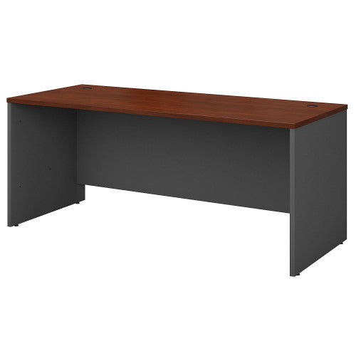 Bush Series C 72W Desk Shell, Hansen Cherry WC24436 ; UPC: 042976244361 ; Image 1