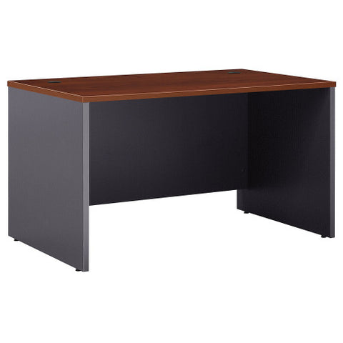 Bush Series C 48W Shell Desk, Hansen Cherry WC24448 ; UPC: 042976502652 ; Image 1