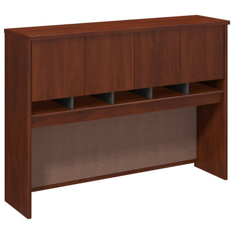 Bush Series C 60W Hutch 4 Door, Hansen Cherry WC24462K ; UPC: 042976244620 ; Image 1