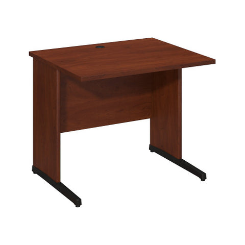 Bush Series C Elite 36W x 30D C-Leg Desk, Hansen Cherry WC24530 ; UPC: 042976499532 ; Image 1