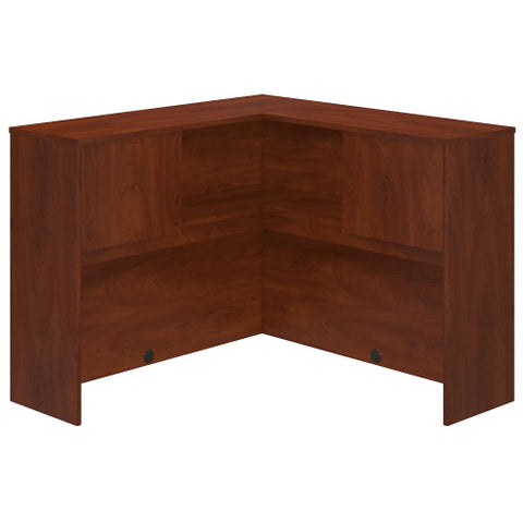 Bush Series C Elite 48W Corner Hutch, Hansen Cherry WC24545 ; UPC: 042976497828 ; Image 1
