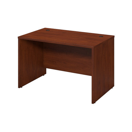 Bush Series C Elite 48W x 30D Desk Shell, Hansen Cherry WC24548 ; UPC: 042976497507 ; Image 1