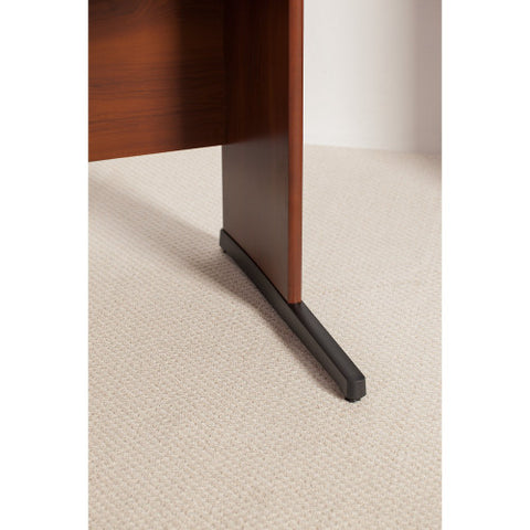 Bush Series C Elite 66W x 30D C-Leg Desk, Hansen Cherry WC24567 ; UPC: 042976499716 ; Image 3