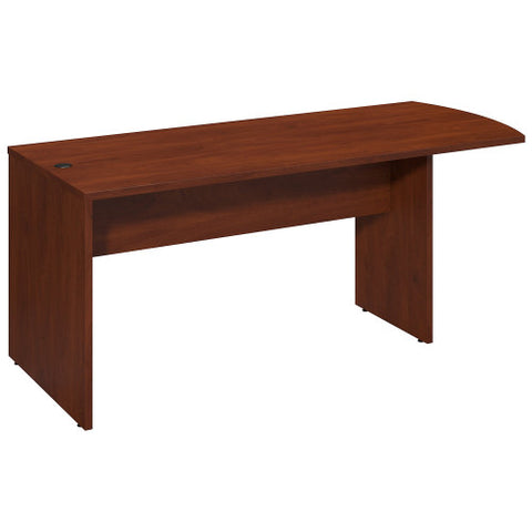 Bush Series C Elite 72W x 30D Peninsula, Hansen Cherry WC24571 ; UPC: 042976499402 ; Image 1