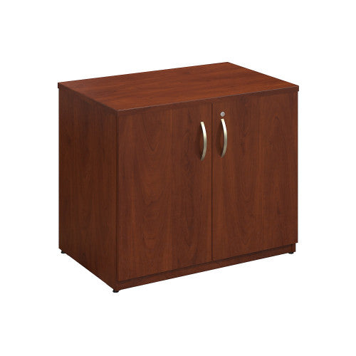 Bush Series C Elite 36W Storage Cabinet Assembled, Hansen Cherry WC24598SU ; UPC: 042976497262 ; Image 1