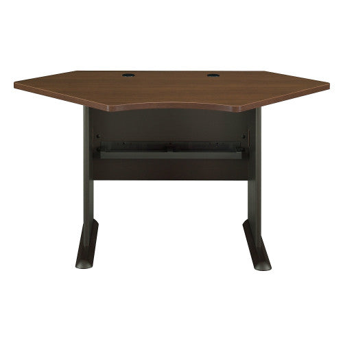 Bush Series A 42W Corner Desk, Walnut WC25542 ; UPC: 042976255329 ; Image 1