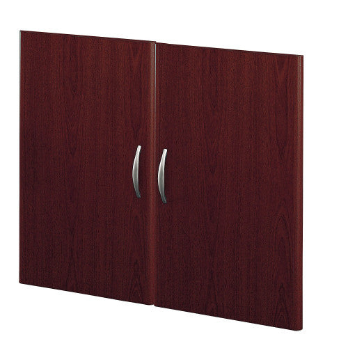 Bush Series C Half Height Door Kit, Mahogany WC36711 ; UPC: 042976367114 ; Image 1