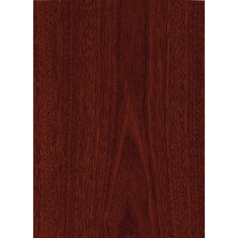 Bush Series C 60W x 43D Right Hand L-Bow Desk Shell, Mahogany WC36722 ; UPC: 042976367220 ; Image 4