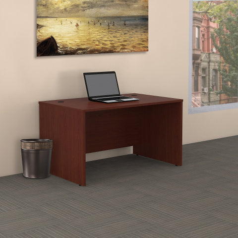 Bush Series C 48W Shell Desk, Mahogany WC36748 ; UPC: 042976502669 ; Image 2