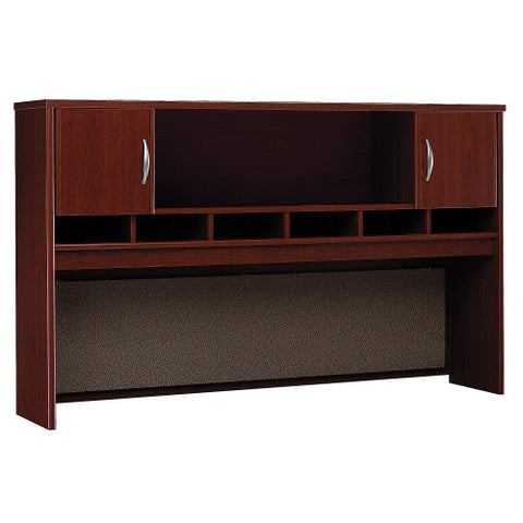 Bush Series C 72W 2 Door Hutch, Mahogany WC36766K ; UPC: 042976367664 ; Image 1