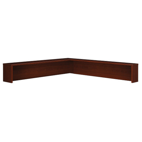 Bush Series C Reception L-Shelf, Mahogany WC36776 ; UPC: 042976367763 ; Image 1