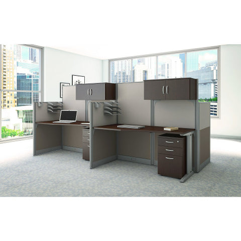 Bush Office in an Hour Storage and Accessory Kit, Mocha Cherry WC3689003K ; UPC: 042976031190 ; Image 2