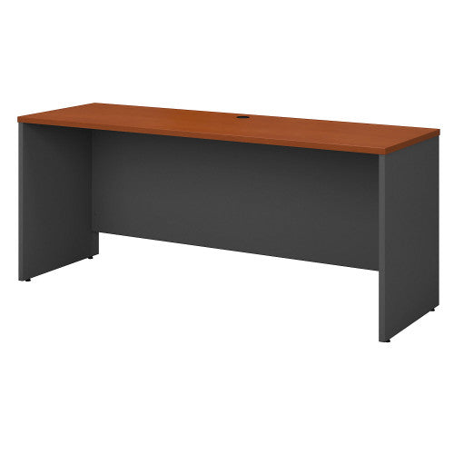 Bush Series C 72W Credenza - Desk Shell, Auburn Maple WC48526 ; UPC: 042976485269 ; Image 1