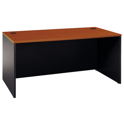 Bush Series C 66W Desk Shell, Auburn Maple WC48542A ; UPC: 042976245849 ; Image 1