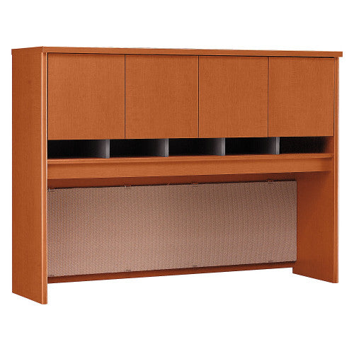 Bush Series C 60W Hutch 4 Door, Auburn Maple WC48562K ; UPC: 042976485627 ; Image 1