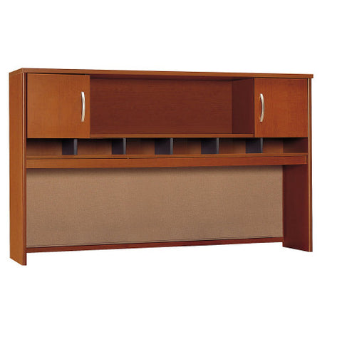 Bush Series C 72W 2 Door Hutch, Auburn Maple WC48566K ; UPC: 042976485665 ; Image 1