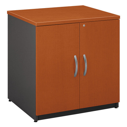 Bush Series C 30W Storage Cabinet, Auburn Maple WC48596A ; UPC: 042976485962 ; Image 1