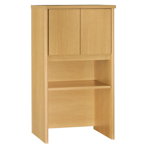 Bush Series C 24W Hutch, Light Oak WC60306 ; UPC: 042976603069 ; Image 1