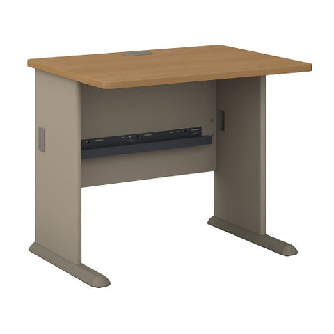 Bush Series A 36W Desk, Light Oak WC64336 ; UPC: 042976643362 ; Image 1