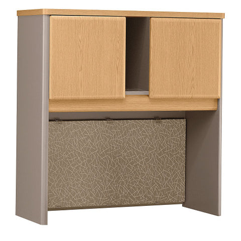 Bush Series A 36W Hutch, Light Oak WC64337P ; UPC: 042976643379 ; Image 1