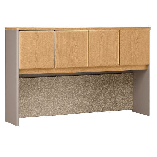 Bush Series A 60W Hutch, Light Oak WC64361P ; UPC: 042976643614 ; Image 1