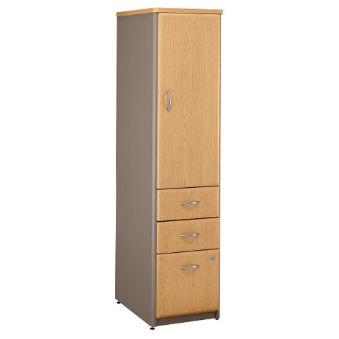 Bush Series A Vertical Locker, Light Oak WC64375P ; UPC: 042976643751 ; Image 1