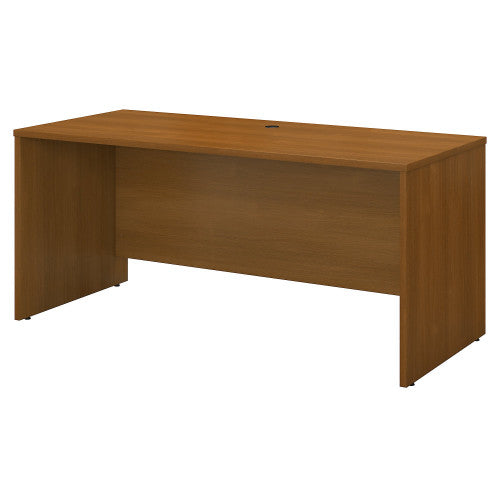 Bush Series C 60W Credenza Shell, Warm Oak WC67561 ; UPC: 042976675615 ; Image 1