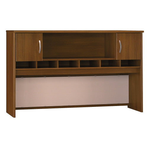 Bush Series C 72W 2 Door Hutch, Warm Oak WC67566K ; UPC: 042976675660 ; Image 1
