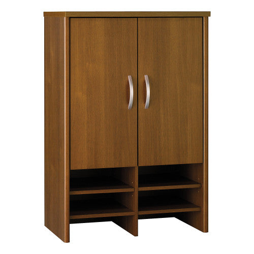 Bush Series C 30W Hutch, Warm Oak WC67597 ; UPC: 042976675974 ; Image 1