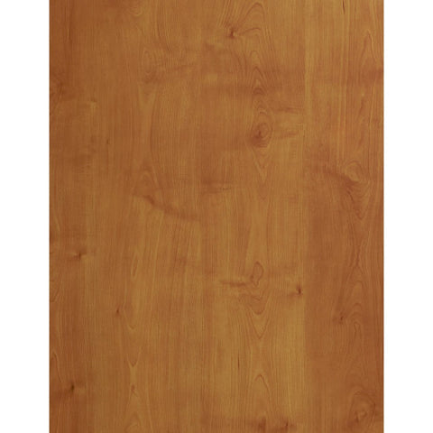 Bush Series C 60W x 43D Left Hand L-Bow Desk Shell, Natural Cherry WC72433 ; UPC: 042976724337 ; Image 3
