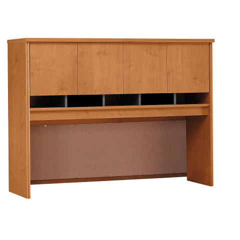 Bush Series C 60W Hutch 4 Door, Natural Cherry WC72462K ; UPC: 042976724627 ; Image 1