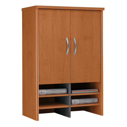 Bush Series C 30W Hutch, Natural Cherry WC72497 ; UPC: 042976724979 ; Image 1