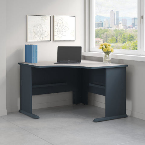 Bush Series A 48W Corner Desk, Slate WC8427A ; UPC: 042976084271 ; Image 2
