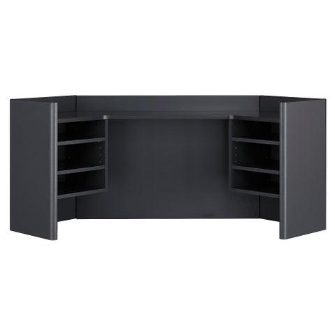 Bush Series A 42W Corner Hutch, Slate WC84843 ; UPC: 042976848439 ; Image 1