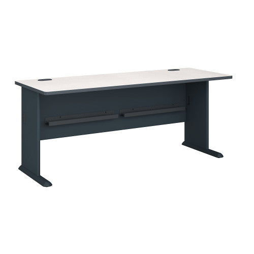 Bush Series A 72W Desk, Slate WC84872 ; UPC: 042976848729 ; Image 1