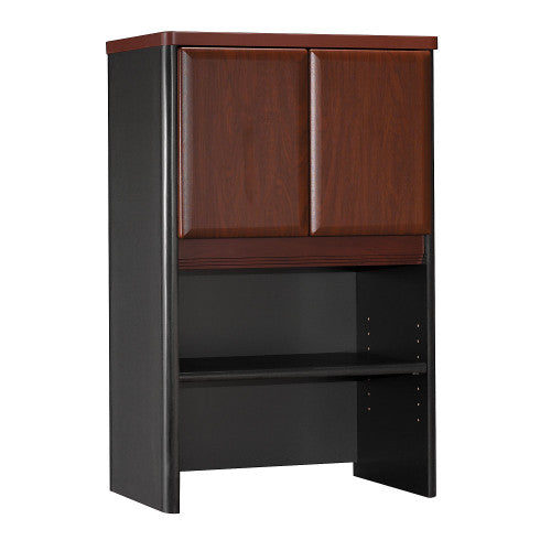 Bush Series A 24W Storage Hutch, Hansen Cherry WC94425P ; UPC: 042976944254 ; Image 1