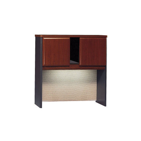 Bush Series A 36W Hutch, Hansen Cherry WC94437P ; UPC: 042976944377 ; Image 1