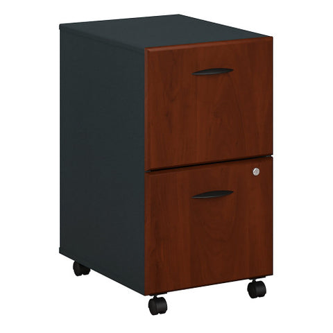 Bush Series A 2 Drawer Mobile Pedestal, Hansen Cherry WC94452P ; UPC: 042976944520 ; Image 1