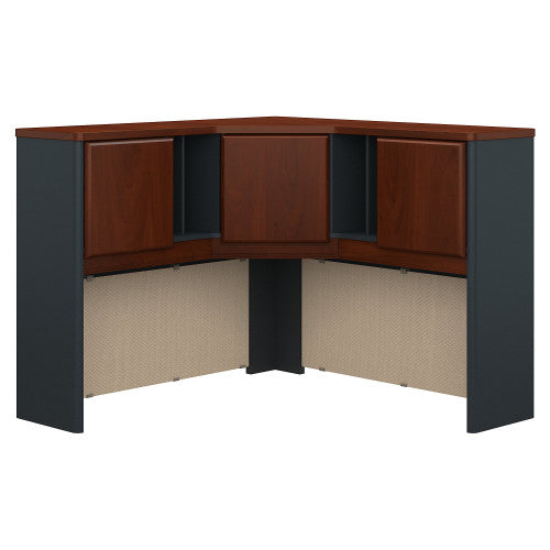 Bush Series A 48W Corner Hutch, Hansen Cherry WC94467PK ; UPC: 042976944674 ; Image 1