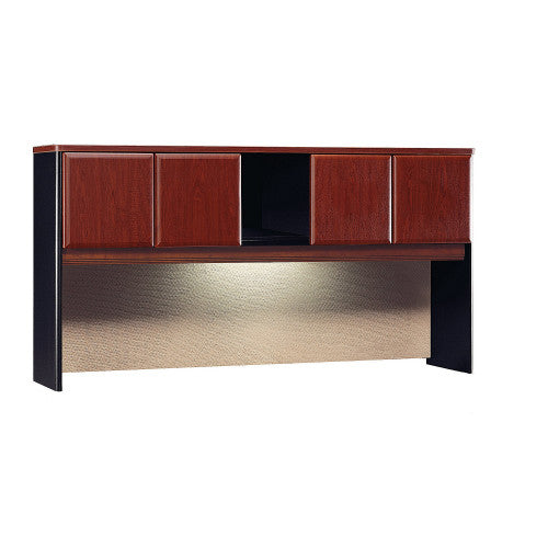 Bush Series A 72W Hutch, Hansen Cherry WC94473P ; UPC: 042976944735 ; Image 1