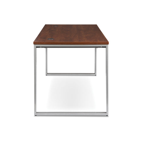 OFM Fulcrum Series 66x30 Desk, Minimalistic Modern Office Desk, Cherry (CL-D6630-CHY) ; UPC: 845123097182 ; Image 4