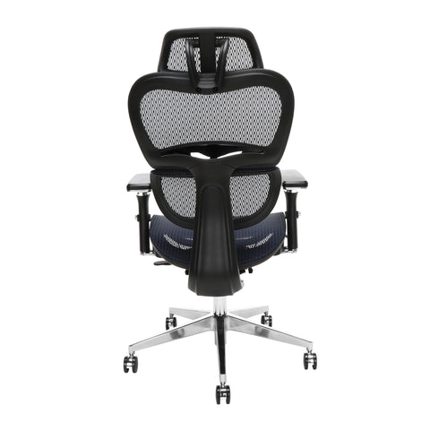 OFM Model 540-BLU Core Collection Ergo Mesh Office Chair with Head Rest for Computer Desk, Blue ; UPC: 192767000376 ; Image 3