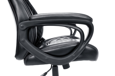 Essentials by OFM ESS-6060 High-Back Racing Style Bonded Leather Executive Chair, Black ; UPC: 845123089354 ; Image 9