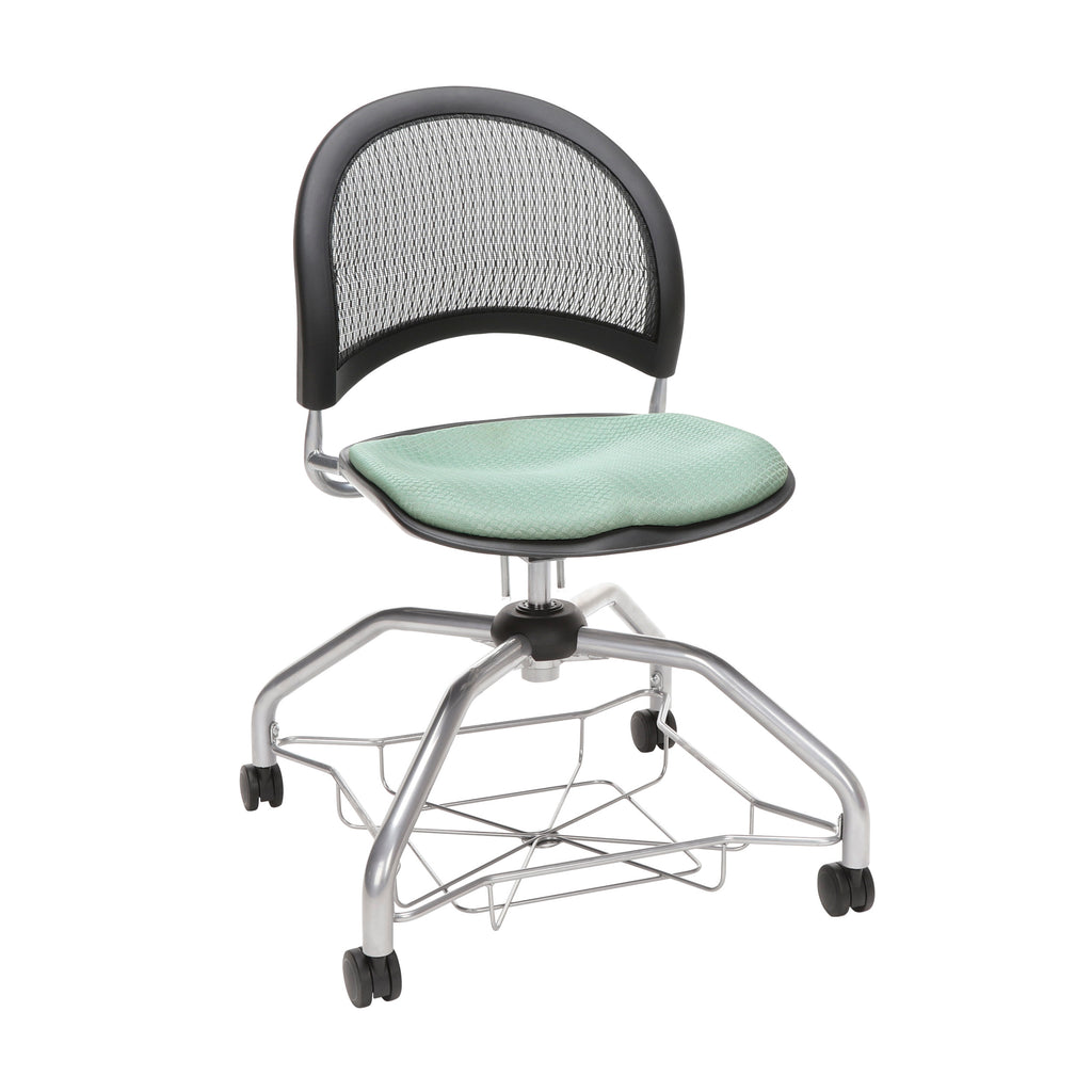 OFM Moon Foresee Series Chair with Removable Fabric Seat Cushion - Student Chair, Sage Green (339) ; UPC: 845123094419 ; Image 1