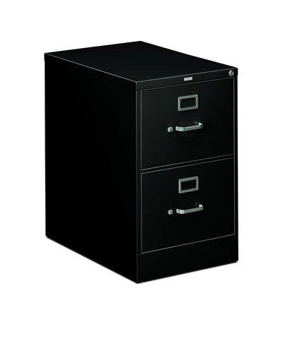 HON 310 Series Vertical File Cabinet Legal Width, 2 Drawers, Black (H312C) ; UPC: 089192039999 ; Image 1
