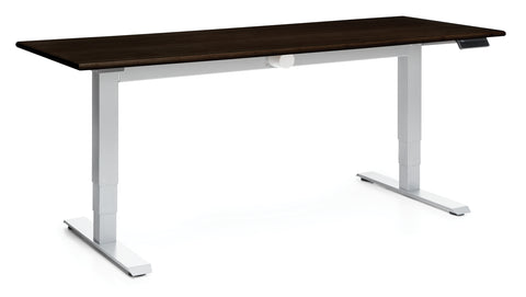 "OFM Versa Series Model HAT-3060 60"" Height Adjustable Table, Espresso ; UPC: 845123053935 ; Image 1"