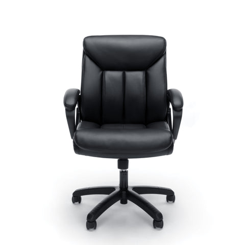 Essentials by OFM ESS-6020 Executive Office Chair, Black with Black Frame ; UPC: 845123092828 ; Image 2