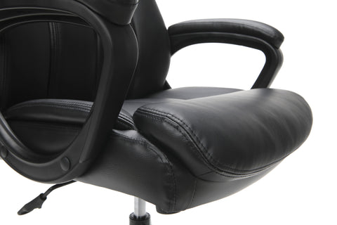 Essentials by OFM ESS-6020 Executive Office Chair, Black with Black Frame ; UPC: 845123092828 ; Image 9
