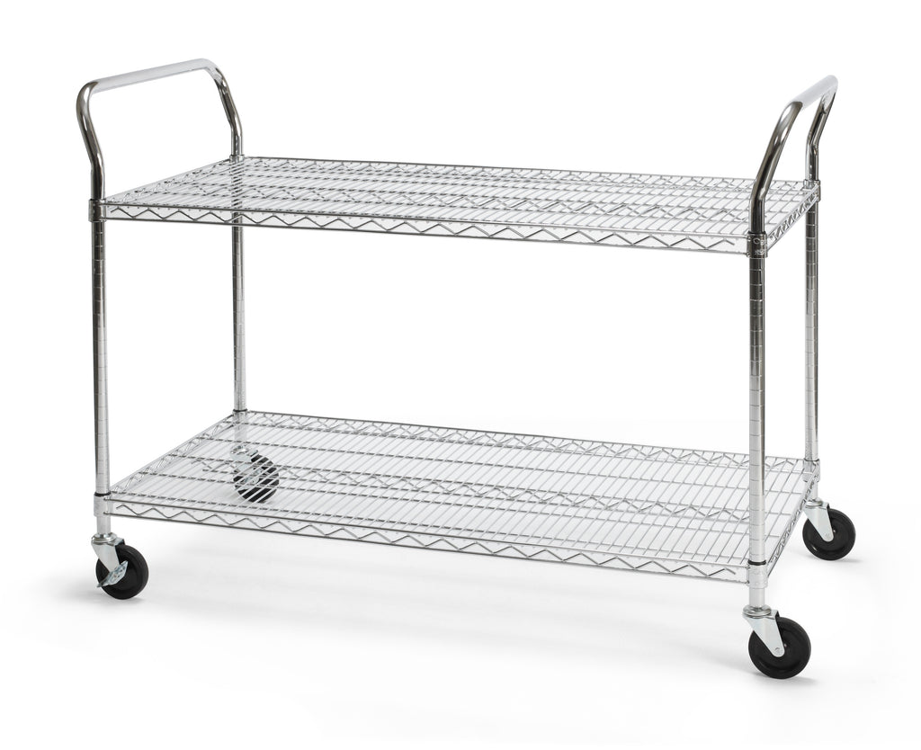 "OFM Core Collection Model SHCART2448 24"" X 48"" Heavy Duty Mobile Cart ; UPC: 845123022337 ; Image 1"