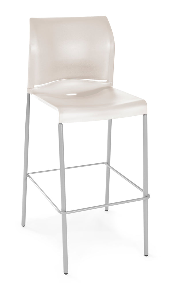 Essentials by OFM E2000 Café Height Stacking Stool, Antique ; UPC: 845123031353 ; Image 1